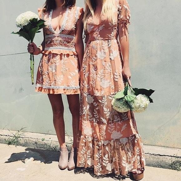 4fcb0f215e7 For Love and Lemons Mia Maxi Dress